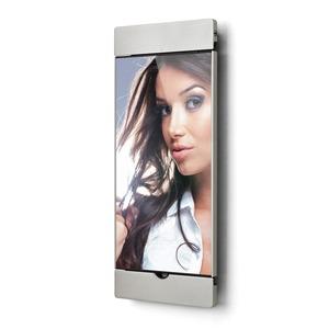"""sDock Air silber 2. Generation, Abschließbare und um 90° drehbare Wandhalterung 2. Generation für iPad 9,7"""" - Ladestation. Fotorahmen - Alles in einem."""