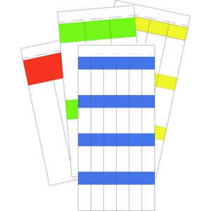 PBW-7625V, Kabelmarkierer, Taschenbuch, weiss 76,2 x 25,4 mm, Preis per VPE  VPE =1