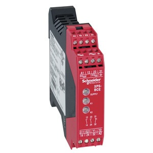 Sicherheitsbaustein Zweihandsteuerung Typ IIIC, 2 S, 1 Ö, 230VAC, Schraub