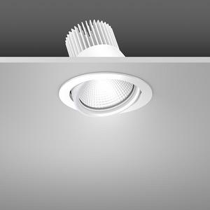 Einbaustrahler LED/23,9W-3100K D157, H142, dim.DALI, 2250 lm