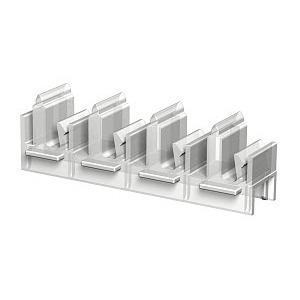 PV N3 125H, Profilverbinder horizontal für Konsole BKN3, PP, natur