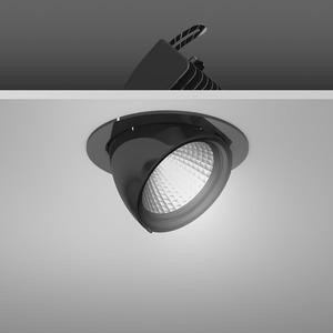 Einbaustrahler LED/39,2W-3000K D172, H153, dim.DALI, 4300 lm