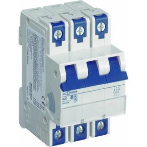 Leitungsschutzschalter UL 3-polig, D, 40A, 10kA, 277/480V AC