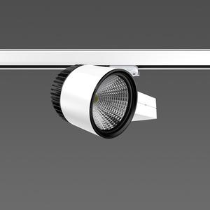 Strahler LED/45W-2000K 227x146, DALI, breit, 2200 lm