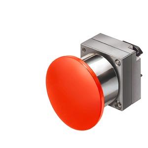 3SB3500-1CA21, Druckzug-Schalter, 22mm, rund rot
