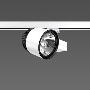 Strahler LED/27W-3100K 227x146, DALI, engstr., 2300 lm