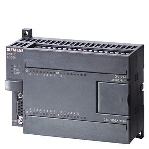 6ES7214-1BD23-0XB0, CPU 224 Kompaktgerät, AC Stromvers. 14 DE DC/10 DA Relais, 8/12 KB