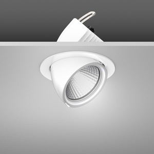 Einbaustrahler LED/39,2W-2700K D172, H153, dim.DALI, 3300 lm