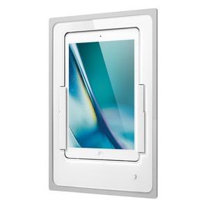 iDock Portrait/white/110-120V/Blende Glas weiß für iPad Air