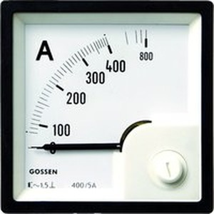 Anzeigeinstrument Typ EQB 72 Messbereich 2,5/5A, Skala 2,5/5A