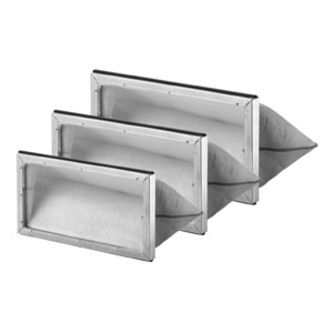 ELF-ALB 125 F7, ELF-ALB 125 F7, Ersatz-Luftfilter KL F7 zu ALB 125, VE = 3 Stück