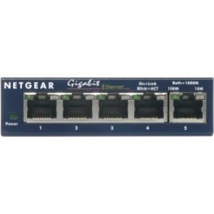 5-Port GB Switch, lüfterlos