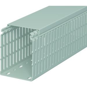 LKV N 10075, Verdrahtungskanal 100x75x2000, PVC, steingrau, RAL 7030