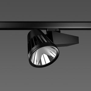 Strahler LED/45W-3100K 290x120, DALI, breit, 3750 lm
