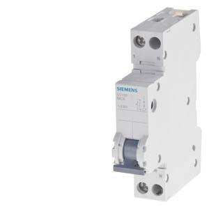 5SY6013-6, Leitungsschutzschalter, 1 TE, 230 V, Icn: 6 kA, 1P+N, B-Char, In: 13 A