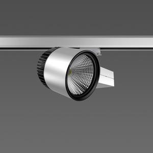 Strahler LED/45W-3100K 227x146, DALI, breit, 3900 lm