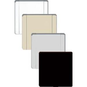 Wandsaugdose Europa Metall weiß matt