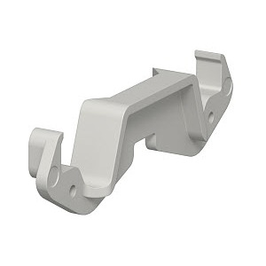 KL80A, Kanalklammer für Systemöffnung 80, PC/ABS, lichtgrau, RAL 7035
