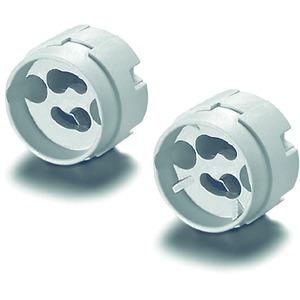 Fassung G10, Kunststoff, für Leuchten der Schutzklasse II, T270, 502112