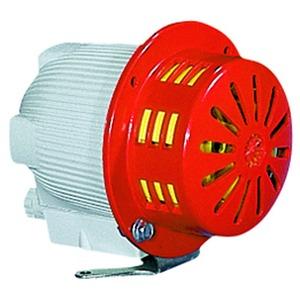 MCL240DA, Elektromechanische Industrie Sirene Mimi Celere 240V ACDC grau