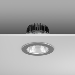 Einbaudownlight LED/8,7W-3000K D156, H114, eng, 1100 lm