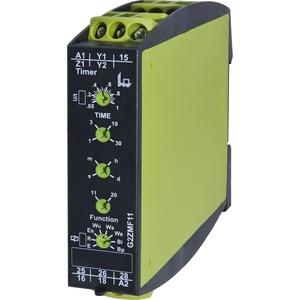 G2ZMF11 24-240VAC/DC, Multifunktio 16 Fkt 2 W - Sofort- od verz Kont 24-240V AC/DC