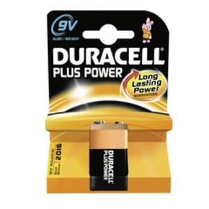Duracell Plus Power-9V(MN1604/6LR61) K1, Duracell Plus Power  9V MN 1604 BL