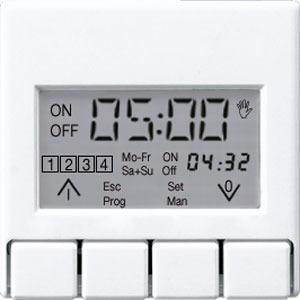 A 5201 DTST WW, Zeitschaltuhr-Display Standard, Anzeige: aktuelle Uhrzeit, nächste Schaltzeit