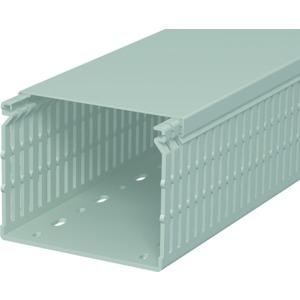 LK4 N 80100, Verdrahtungskanal 80x100x2000, PVC, steingrau, RAL 7030