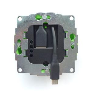 sCharge 12W, Unterputz-Netzteil 12W mit microUSB Anschluss