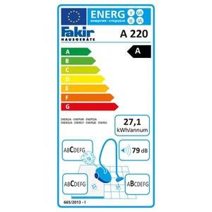 A 220, Bodenstaubsauger trend, A 220, trend, blaumetallic, 750 Watt