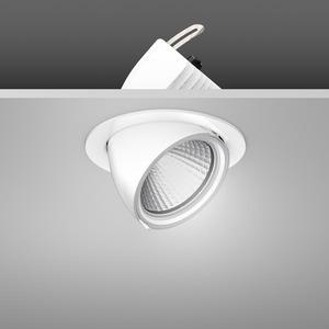 Einbaustrahler LED/39,2W-3100K D172, H153, engstr., 3850 lm