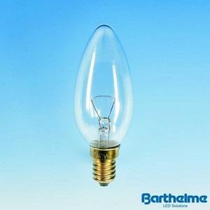 Kerzenlampe E14 klar 240V 40W