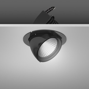 Einbaustrahler LED/39,2W-2700K D172, mittelstr., 4200 lm