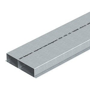 S3 25048, Unterflurkanal 3-zügig 2000x250x48, St, FS