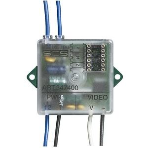 Kamera-Interface Koax / 2-Draht für eine externe Videokamera. 41 x 41 x 19 mm