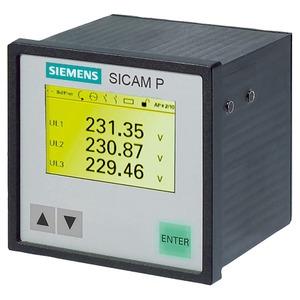 7KG7750-0CA01-0AA1, Schalttafel-Messgerät, IP41, 2 Binärausgänge/-eingänge, RS485 IEC 60870/Modbus
