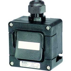 GHG 273 4000 R0004, Ex-Installationsschalter 16 A für Zone 1/21 Taster 2-polig, 1 x M25, direkte Gehäusebohrung, Verschraubung(en): 1 x M25, 8 mm - 17 mm Polyamid