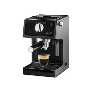ECP 31.21, Espressomaschine, 15 bar, E.S.E. System, Thermoblock, Milchaufschäumdüse, Schwarz / Chrom