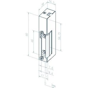 Türöffner 19E---------D11 ohne Schliessblech