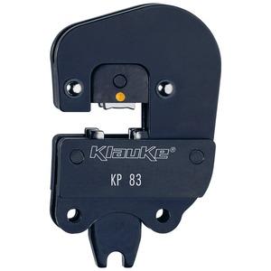 Presskopf für isolierte Kabelverbindungen (gelb)