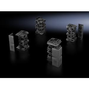 TS 8200.000, Flex-Block Eckstücke, für TS/TS-IT/SE/PC, Höhe 200 mm, RAL 9005, Preis per VPE, VPE = 4 Stück