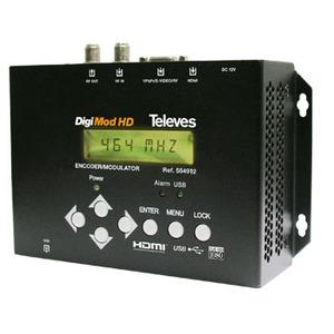 Modulator HDMI in COFDM mit Netzteil und Bedieneinheit