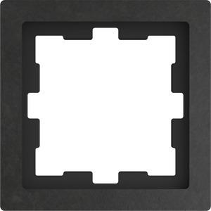 D-Life Stein Rahmen, 1fach, Schiefer geschliffen