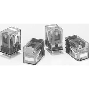 MY4IN1-D2 24VDC (S), Mechanische und LED-Anzeige, feststellbare Prüftaste, Freilaufdiode, + auf A1