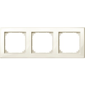 M-SMART-Rahmen, 3fach, weiß glänzend