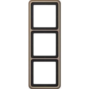 CD 583 GB, Rahmen, 3fach, für waagerechte und senkrechte Kombination