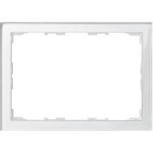 Echtglasrahmen für Touch-Panel 7, Brillantweiß