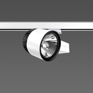 Strahler LED/45W-3000K 227x146, DALI, engstr., 4250 lm
