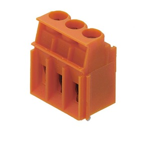 LP 5.00/08/90 3.2SN OR BX, Leiterplattenklemme, Zugbügel-Anschluss, Lötanschluss, Klemmbereich, max.: 6 mm²